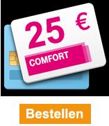 telefonkarte comfort online aufladen ab 15. Black Bedroom Furniture Sets. Home Design Ideas
